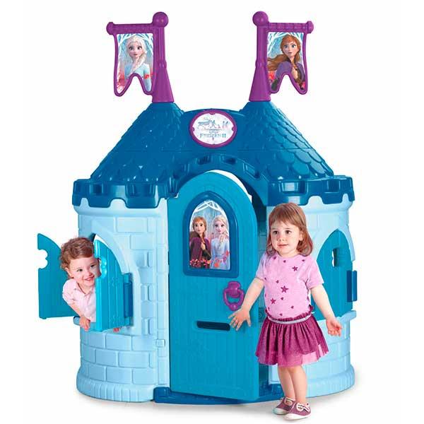 casita de jardin castillo frozen 2 feber juguetoon