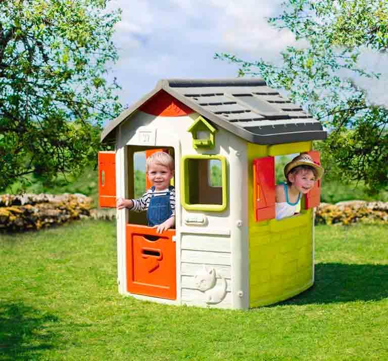 casita de jardin jura lodge II smoby juguetoon